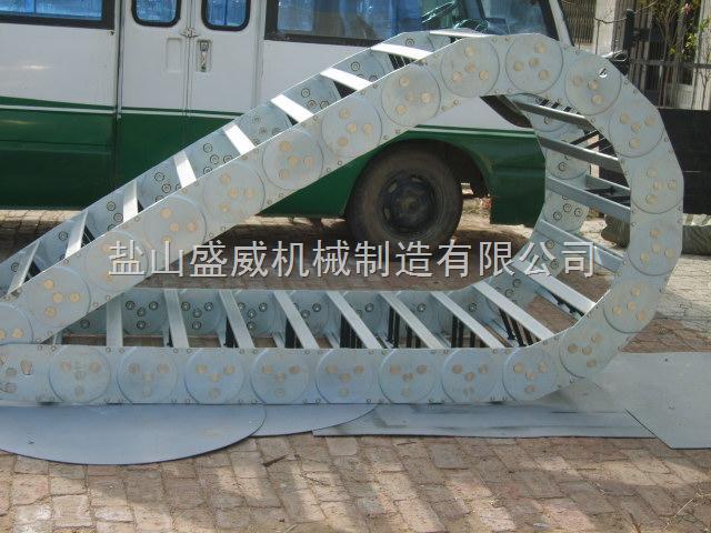 订做恶劣环境下使用钢制拖链,高柔性电缆拖链