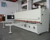 带伺服电机台湾滚珠丝杆的液压数控剪板机
