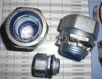 卡套式金属软管接头   JSF-DKJ卡套式金属包塑蛇皮管接头