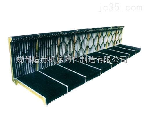 数控机床伸缩式防尘罩专业厂家产品图片