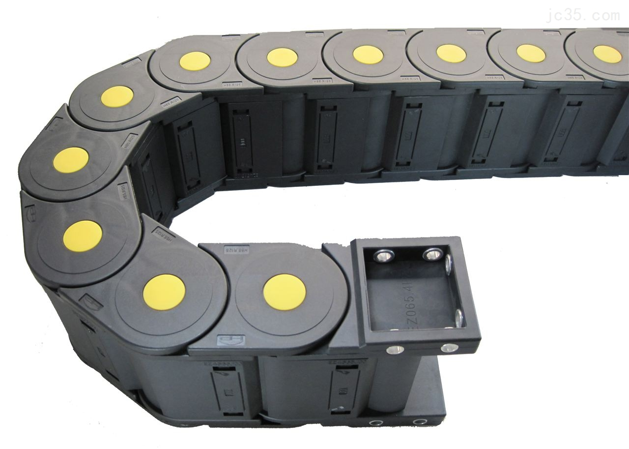 Reinforced Nylon Drag chain with inner height 65mm