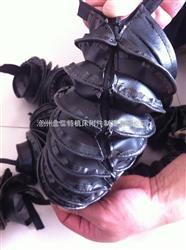 三防布材质拉链式油缸防尘罩-粘扣式可定做