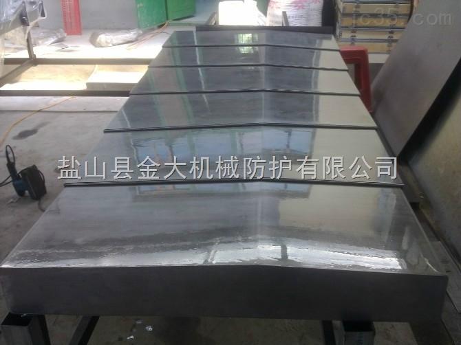 龙门铣床导轨保护专用钢板防护罩