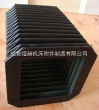 供应耐高温导轨防护罩伸缩式盔甲风琴防尘罩产品图片