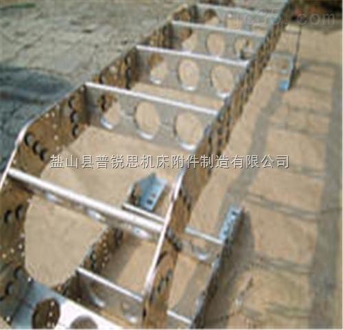 油管保护型机床钢铝拖链