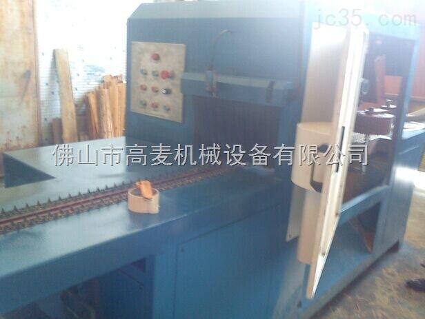 中山圆木多片锯机按自定尺寸一次性锯出多片板材
