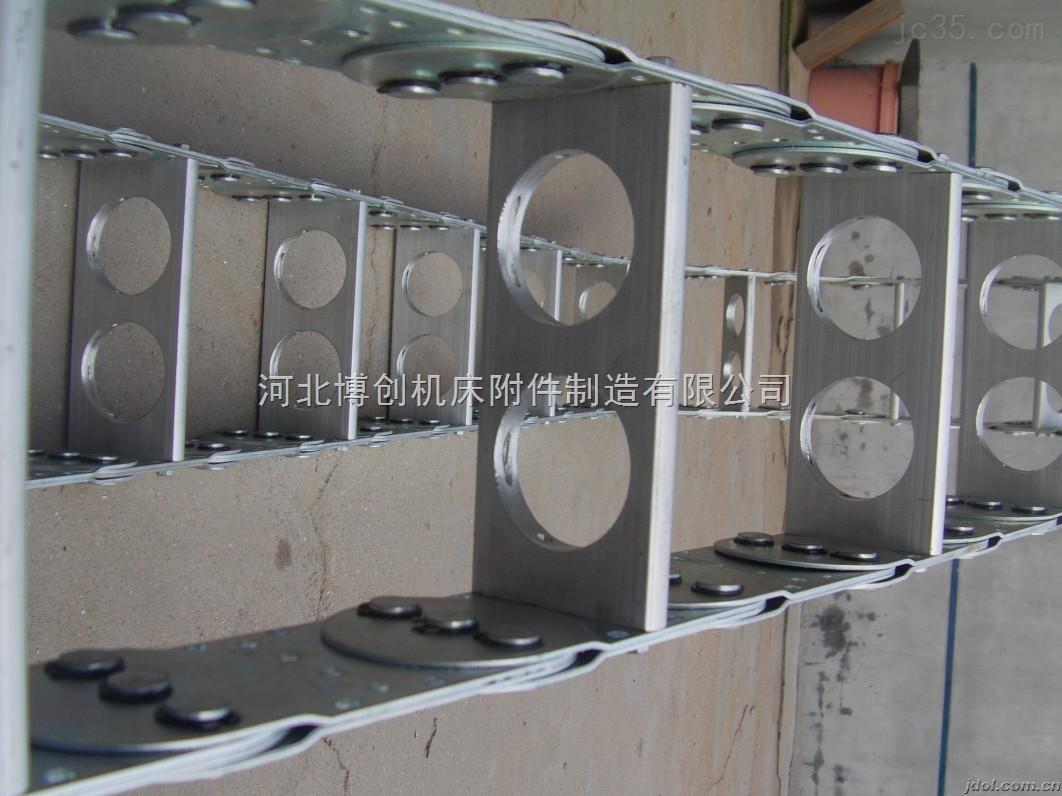升降机械穿线钢铝拖链