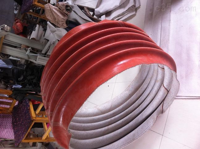红色硅胶风机软连接