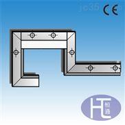 制作导轨刮削板刮油板,铝型材槽板撞块