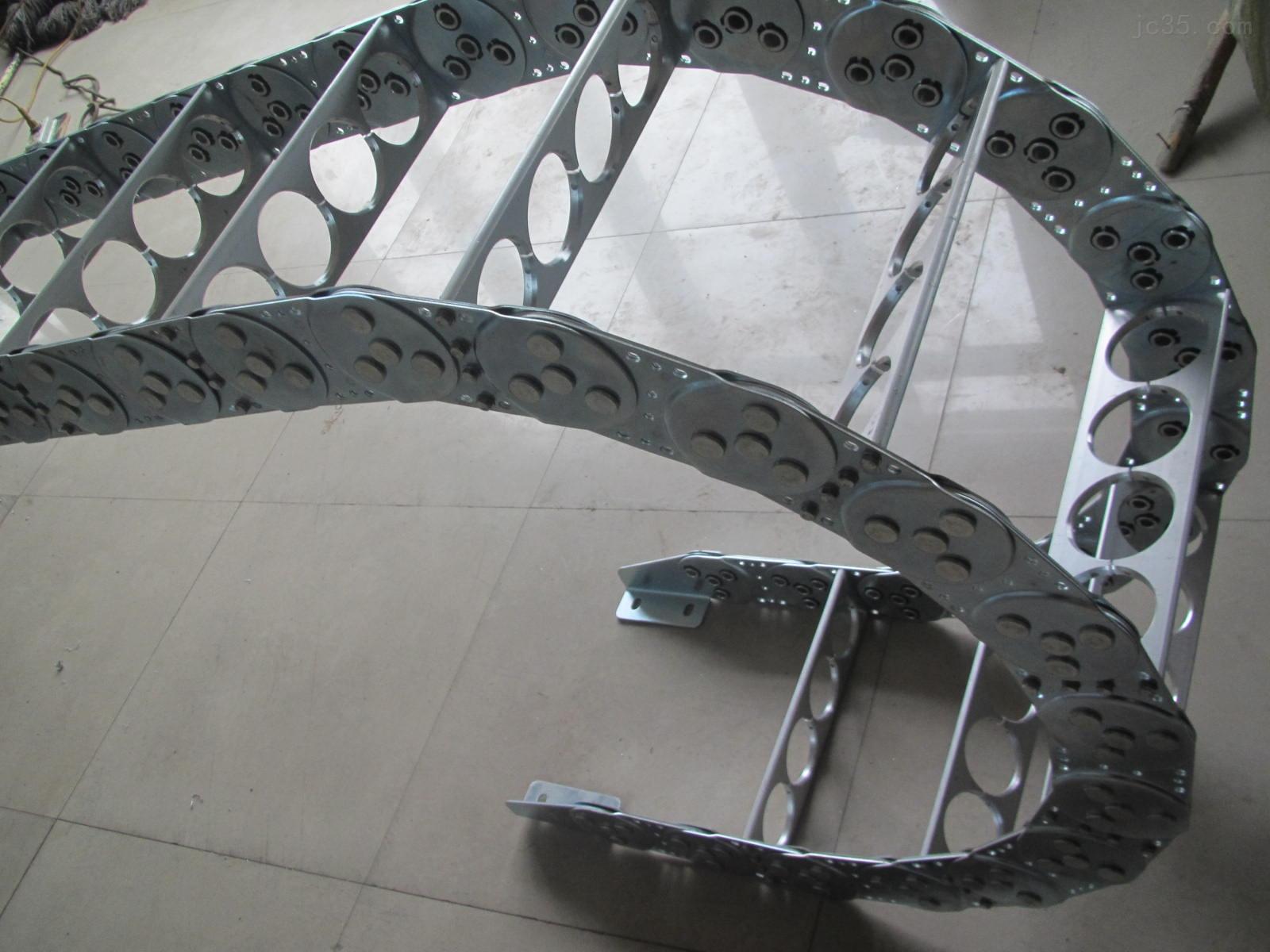 穿线钢制拖链