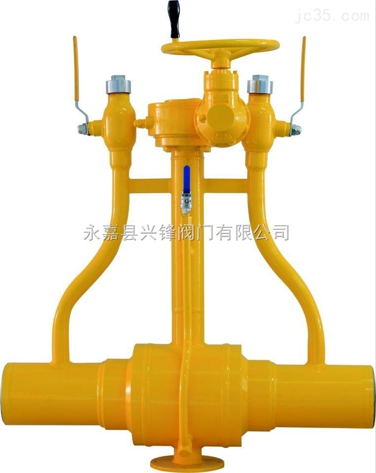 天然气专用焊接球阀