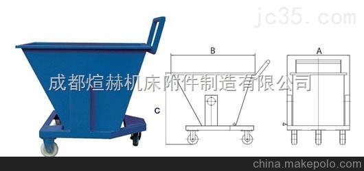 废料回收专用翻斗铁屑车【设计合理】产品图片