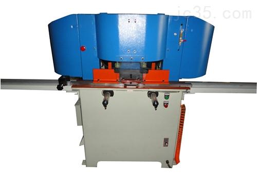 铝材双头高速切割机,双头45度角铝材切割机