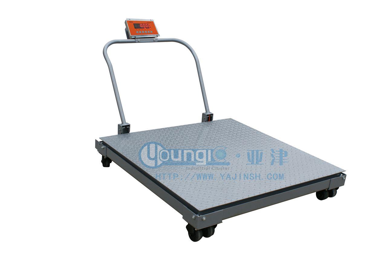 不锈钢地磅 不锈钢移动式小地磅 防水型平台秤