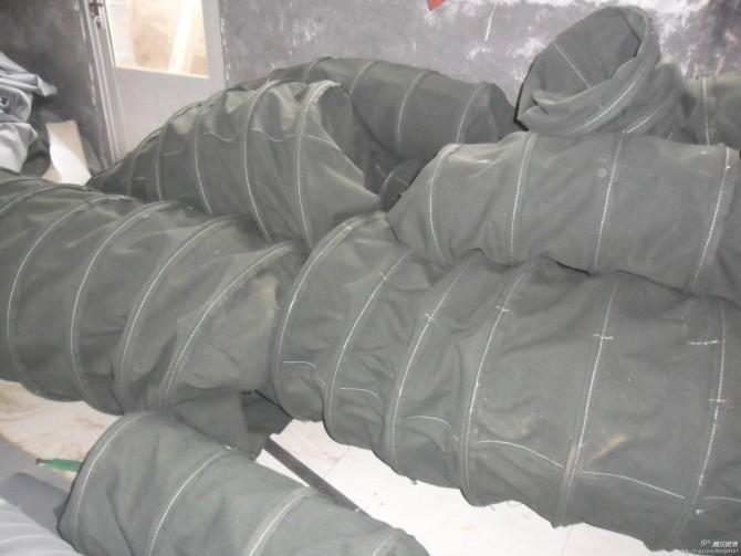 防尘帆布输送软连接产品图