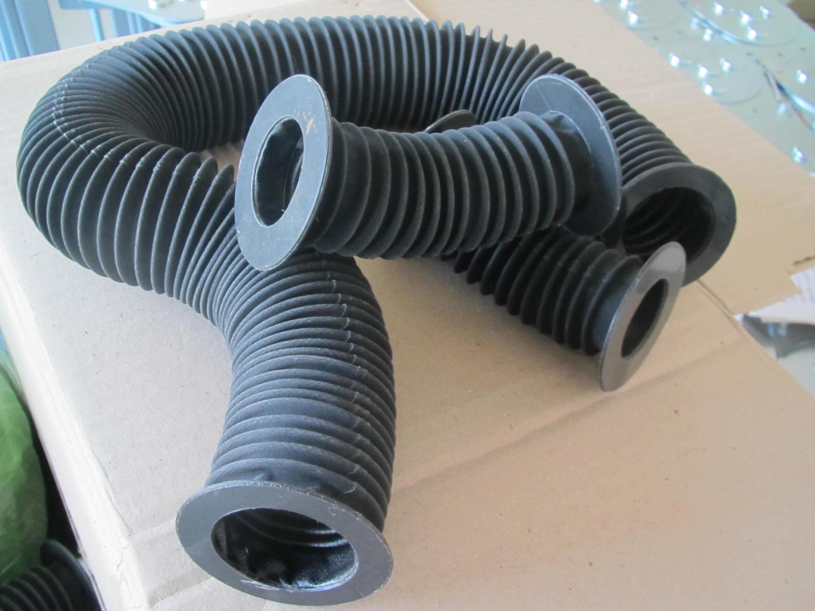 木工机械圆形伸缩护套产品图