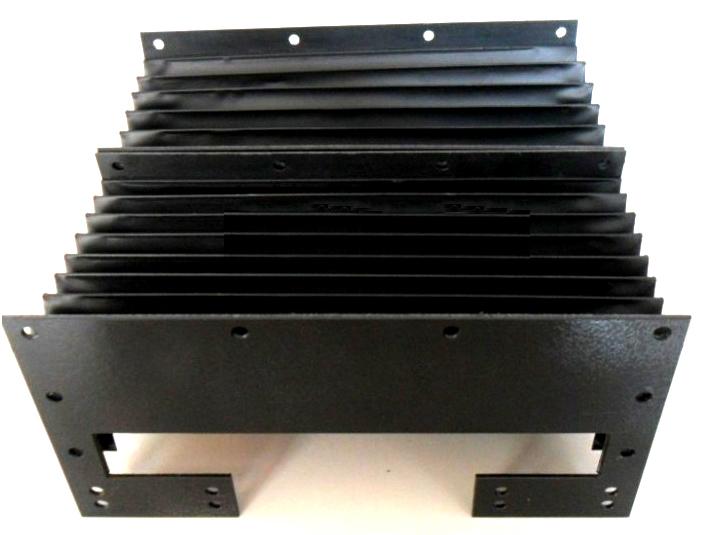 大连三防布柔性风琴防护罩产品图