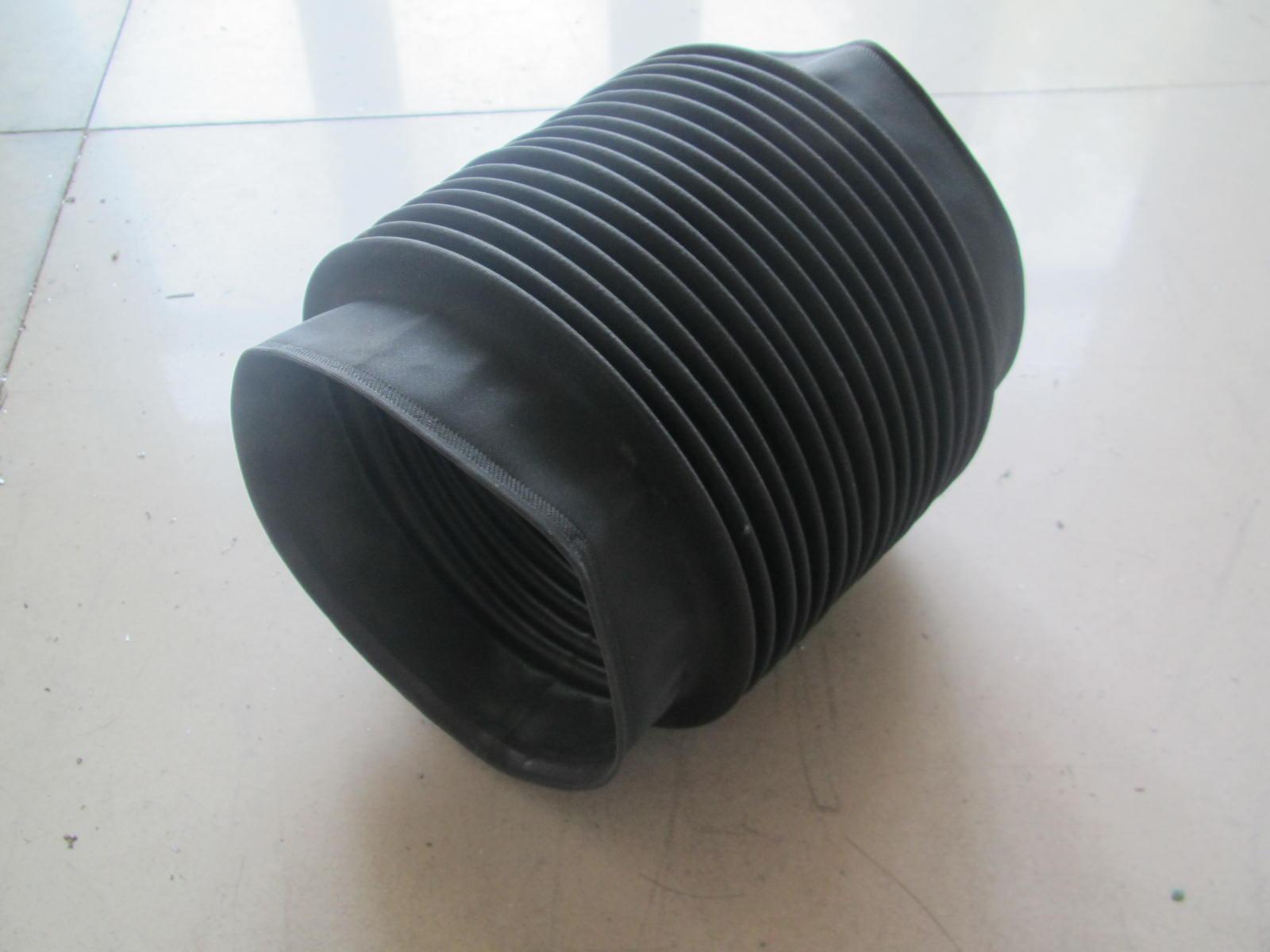 龙门铣床圆形伸缩防护罩产品图
